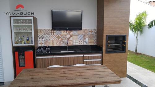 casa residencial à venda, 180 m² , condomínio reserva real,