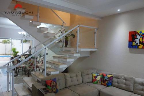 casa residencial à venda, 218 m², condomínio terras do fontanário, paulínia - ca0015. - ca0015