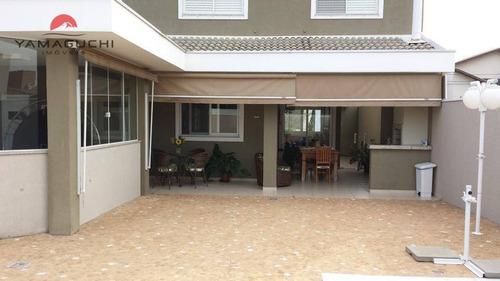 casa residencial à venda, 224 m², condomínio campos do conde, paulínia. - codigo: ca0071 - ca0071
