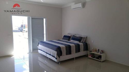 casa residencial à venda, 275 m², condomínio reserva real, paulínia. - codigo: ca0077 - ca0077