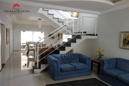 casa residencial à venda, 302 m², condomínio residencial manacás, paulínia. - codigo: ca0154 - ca0154