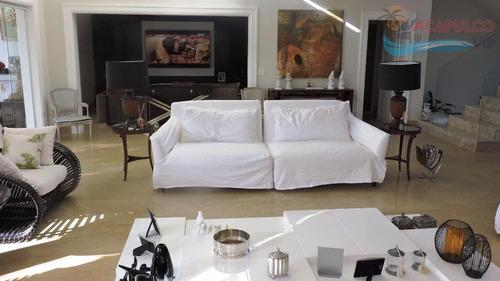 casa residencial à venda, acapulco, guarujá - ca0134. - ca0134