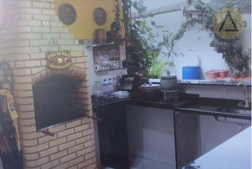 casa residencial à venda, ajuda, macaé. - ca0438
