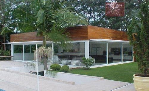 casa  residencial à venda, algarve, cotia. - ca0081