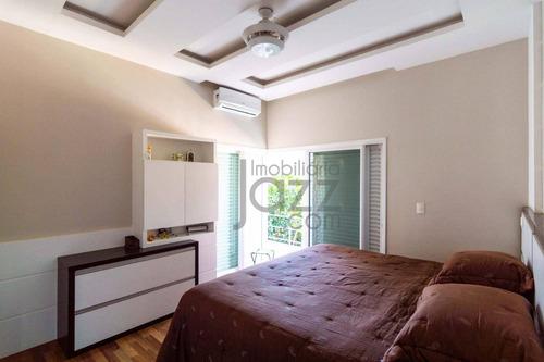 casa residencial à venda, alphaville campinas, campinas. - ca0679