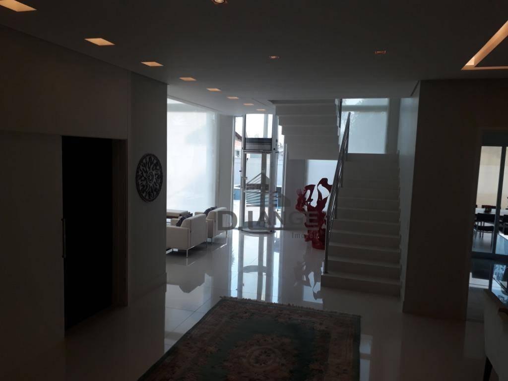 casa residencial à venda, alphaville campinas, campinas. - ca12352