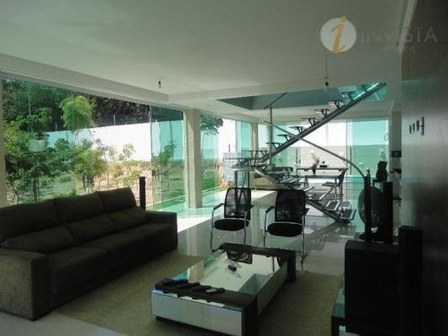 casa residencial à venda, altiplano cabo branco, joão pessoa - ca1148. - ca1148