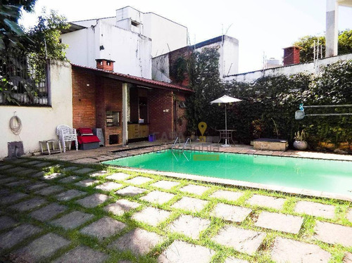 casa residencial à venda, alto da lapa, são paulo. - ca0162
