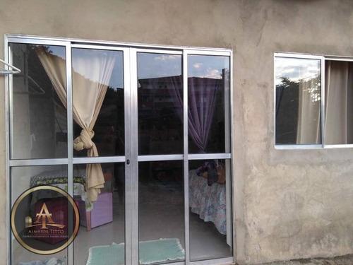 casa residencial à venda, amador bueno, itapevi. - ca0705