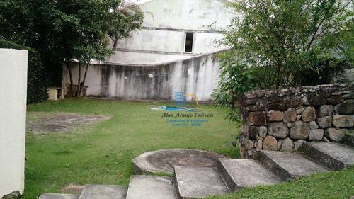 casa residencial à venda, anil, rio de janeiro. - ca0095