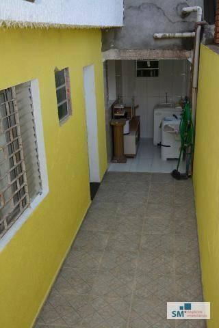 casa residencial à venda, assunção, são bernardo do campo. - ca0154