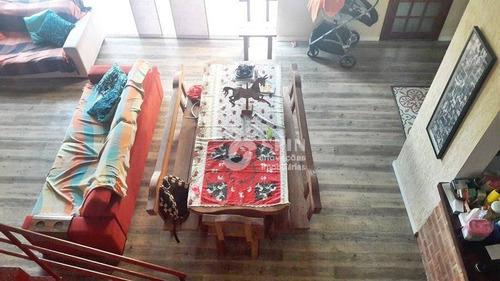 casa residencial à venda, badu, niterói. - ca0088