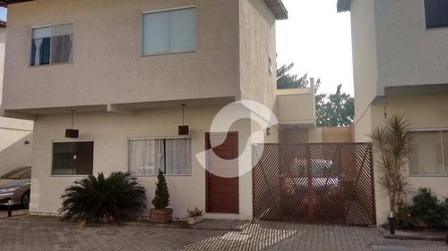 casa residencial à venda, badu, niterói. - ca0368