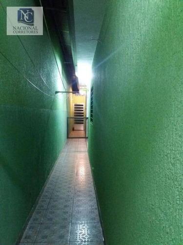 casa residencial à venda, bairro jardim, santo andré. - ca2243