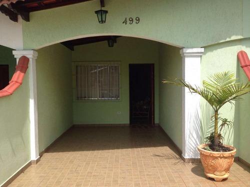casa residencial à venda, balneário flórida, praia grande. - ca0014