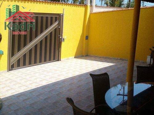 casa residencial à venda, balneário flórida, praia grande. - ca0073