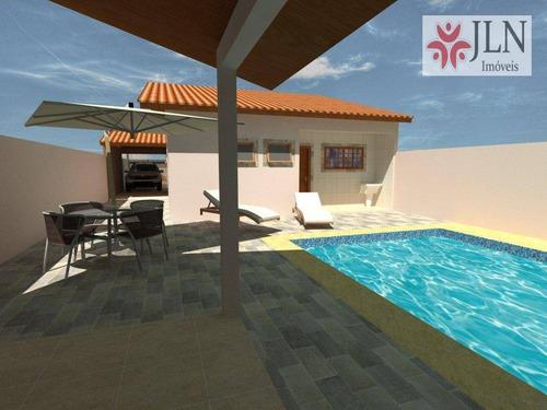 casa residencial à venda, balneário gaivota - área verde, itanhaém. - ca0310
