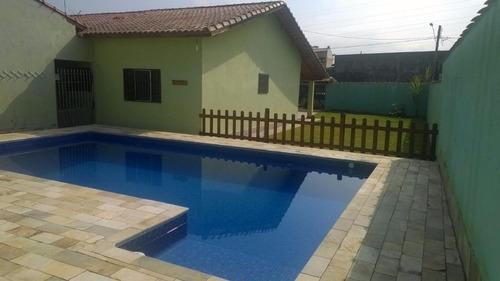 casa residencial à venda, balneário gaivota, itanhaém. - ca0241