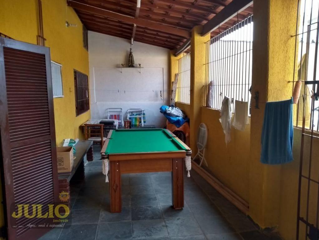 casa residencial à venda, balneário itaguaí, mongaguá. - ca3246