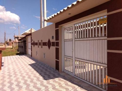 casa residencial à venda, balneário jardim de itanhaém (f/grandesp), itanhaém. - ca0190