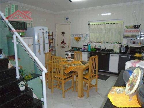 casa residencial à venda, balneário maracanã, praia grande. - ca0125