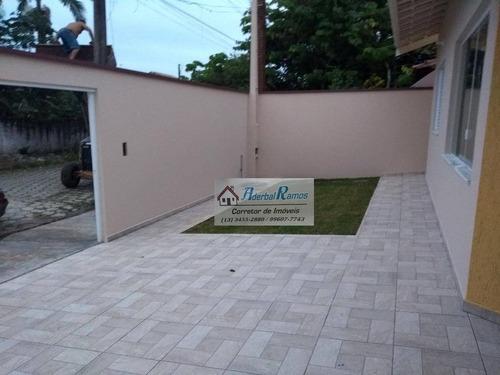 casa residencial à venda, balneário três marias, peruíbe. - ca1294