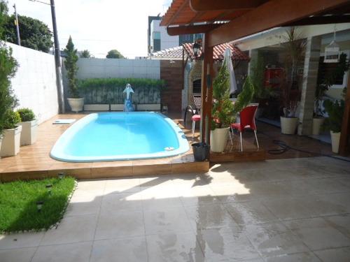 casa residencial à venda, bancários, 4 quartos, piscina