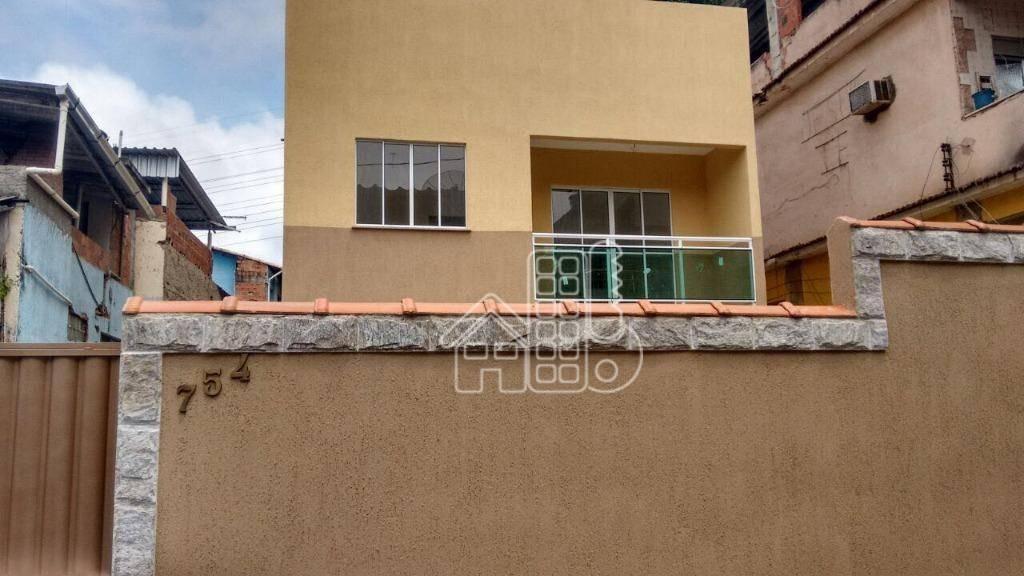 casa residencial à venda, barro vermelho, são gonçalo. - ca0502