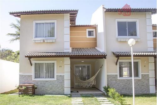 casa residencial à venda, bela vista do sul, aquiraz. - ca0356