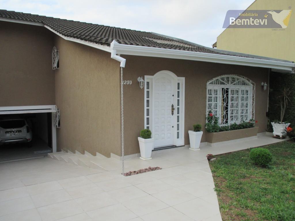 casa residencial à venda, bom retiro, curitiba. - ca0642