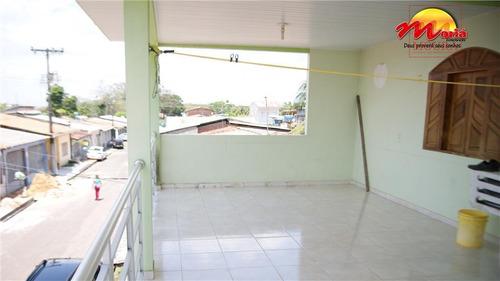 casa  residencial à venda, boné azul, macapá. - ca0178