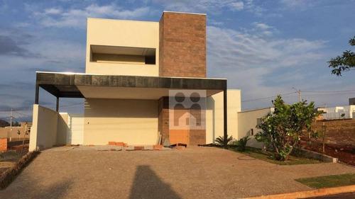 casa residencial à venda, bonfim paulista, ribeirão preto. - ca0269