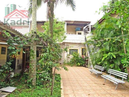 casa residencial à venda, boqueirão, praia grande. - ca0196