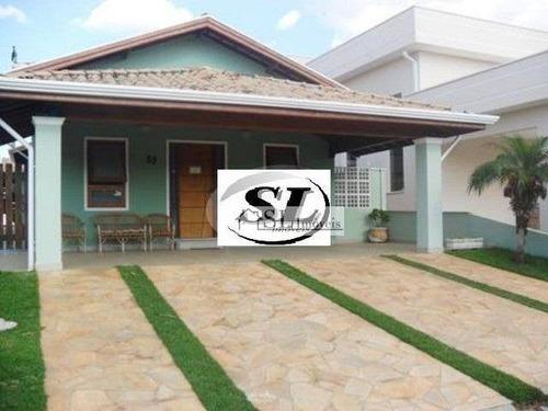 casa residencial à venda, bosque de barão geraldo, campinas. - ca0146