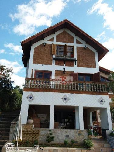 casa residencial à venda, cachoeiras do imaratá, itatiba. - ca1032