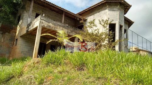 casa residencial à venda, cachoeiras do imaratá, itatiba. - ca1041