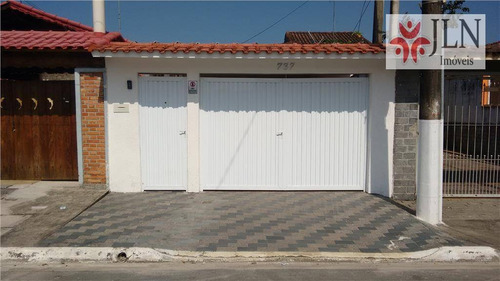 casa residencial à venda, caiçara, praia grande. - ca0037