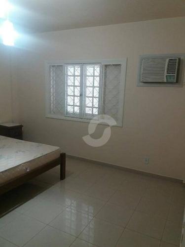 casa residencial à venda, camboinhas, niterói. - ca0556