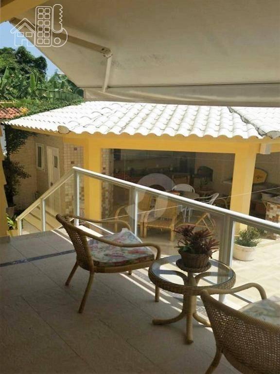 casa residencial à venda, camboinhas, niterói. - ca1240