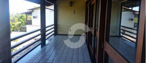 casa residencial à venda, camboinhas, niterói. - ca1577