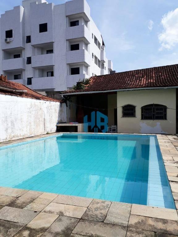 casa residencial à venda, campo da aviação, praia grande. - ca0090