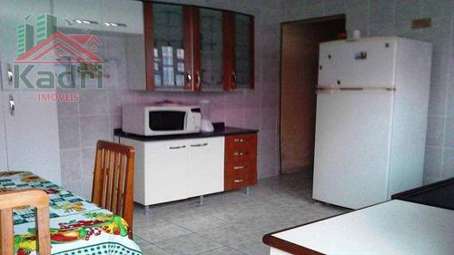 casa residencial à venda, campo da aviação, praia grande. - ca0164