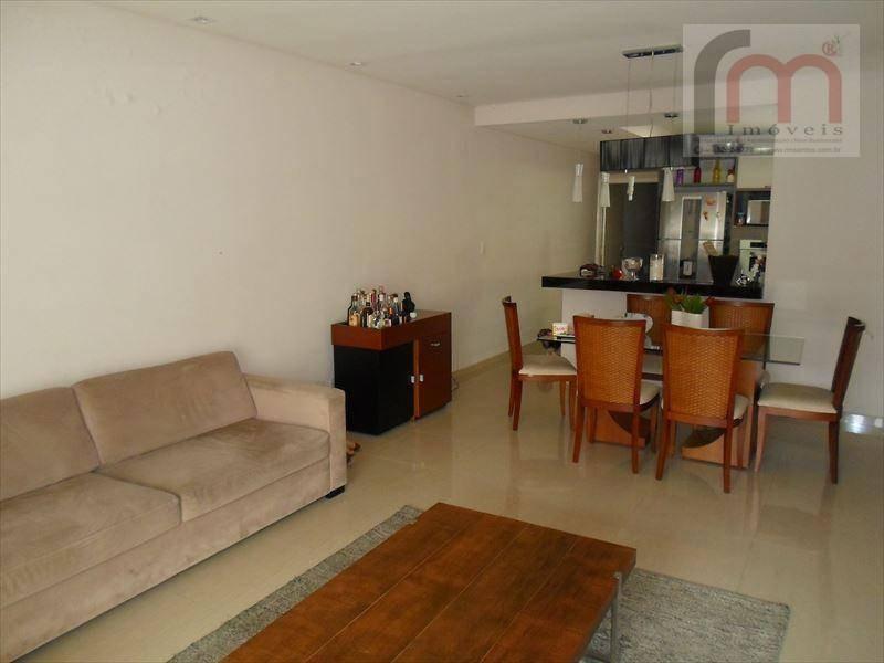 casa residencial à venda, campo grande, santos - ca0061. - ca0061