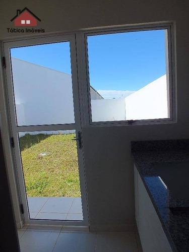casa residencial à venda, campo largo da roseira, são josé dos pinhais. - ca0021