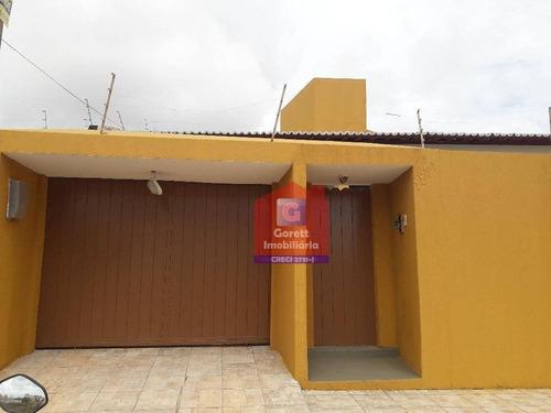 casa residencial à venda, candelária, natal - v0454 - ca0193