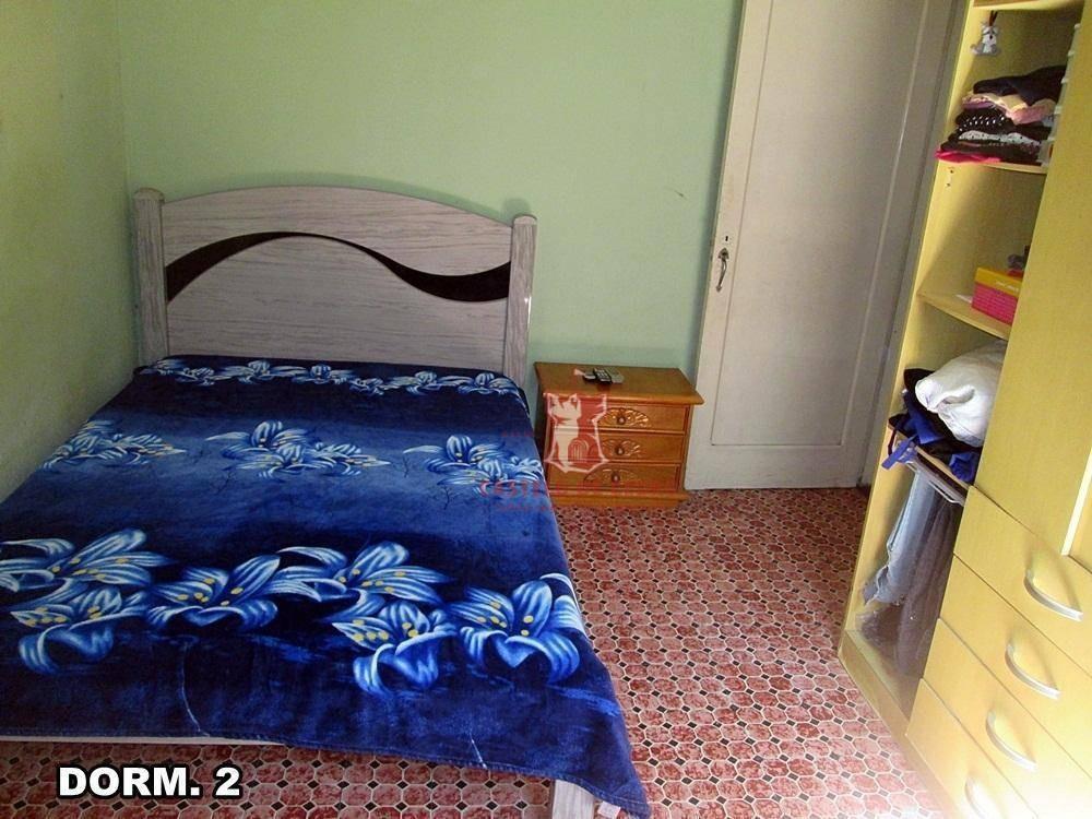 casa residencial à venda, canto do forte, praia grande. - ca0123