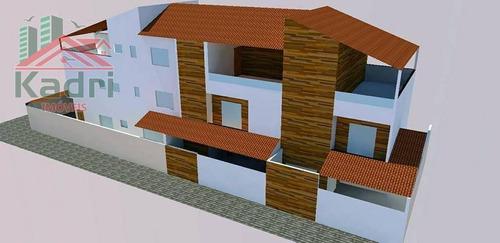 casa residencial à venda, canto do forte, praia grande. - ca0259