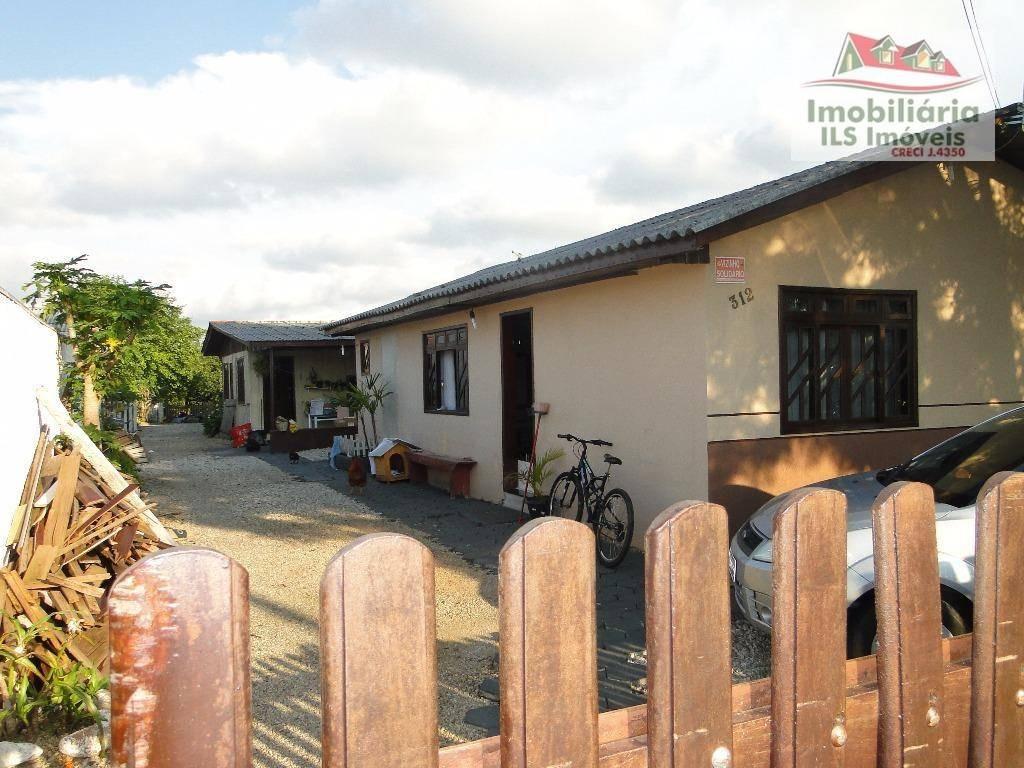 casa residencial à venda, capela velha, araucária. - ca0220