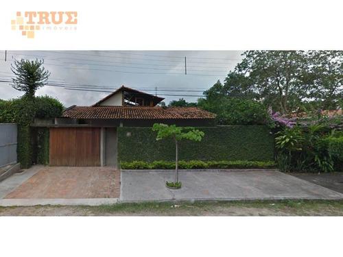 casa residencial à venda, casa forte, recife. - ca0215