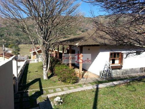 casa residencial à venda, centro, caldas. - ca1035